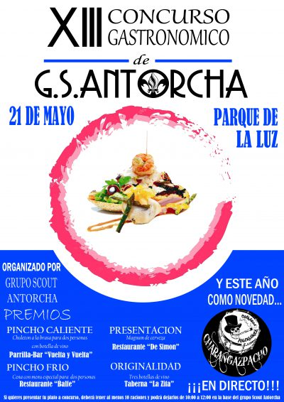 ¡Ya esta aquí el Concurso Gastronomico!